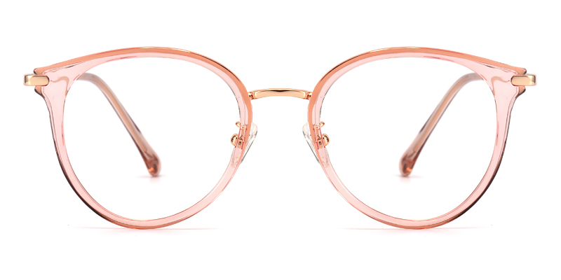 Doris Round Pink Frame