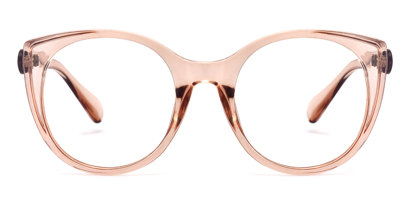 Kelsey Round Pink Frame