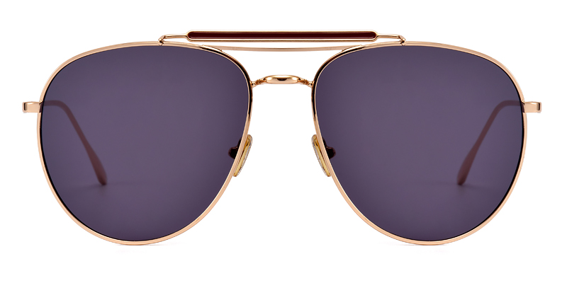 Robinson Aviator Gold Sunglasses