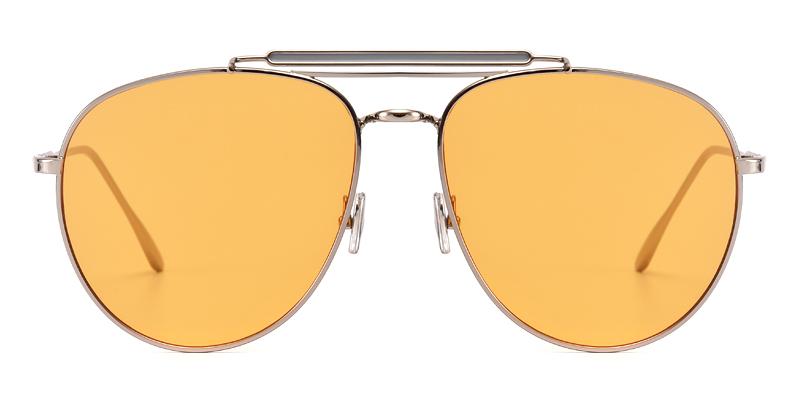 Robinson Aviator Silver Sunglasses