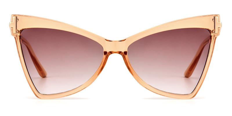 Demetria Cateye Pink Sunglasses