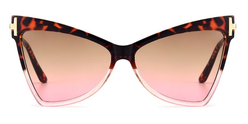 Demetria Cateye Toroise Sunglasses