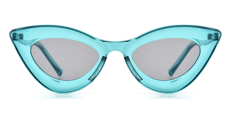 Yvonne Cateye Blue Sunglasses
