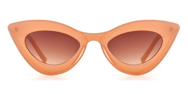 Yvonne Cateye Pink Sunglasses
