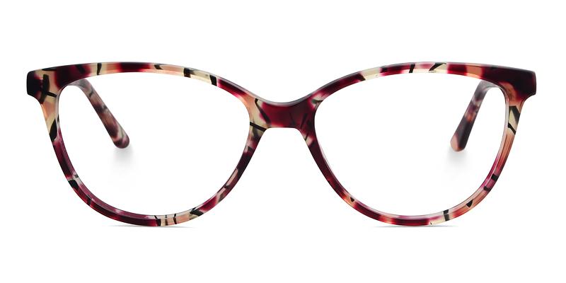 Aubrey Cateye Red Frame