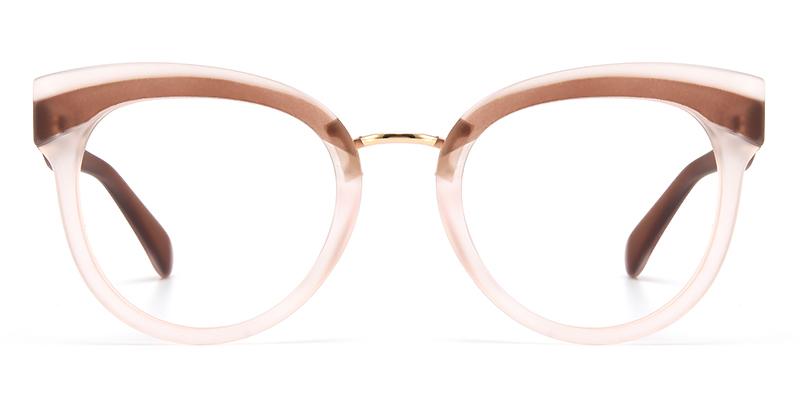Mikki Cateye Pink Frame