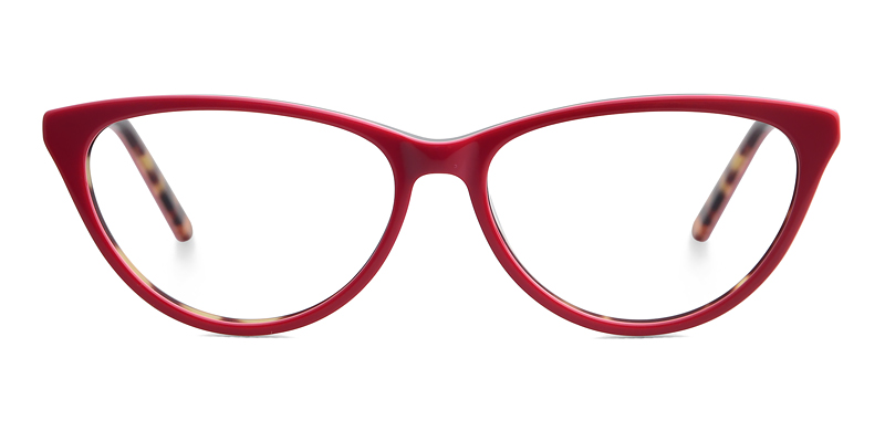Aline Cateye Red Frame