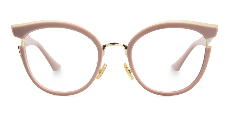 Anna Cateye Pink Frame