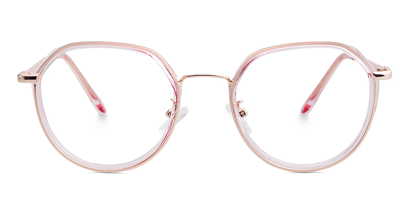 Candice Geometric Pink Frame