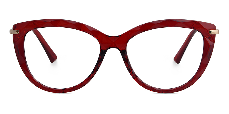 Alma Cateye Red Frame