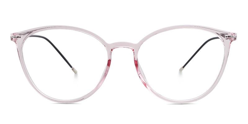 Alyssa Cateye Pink Frame