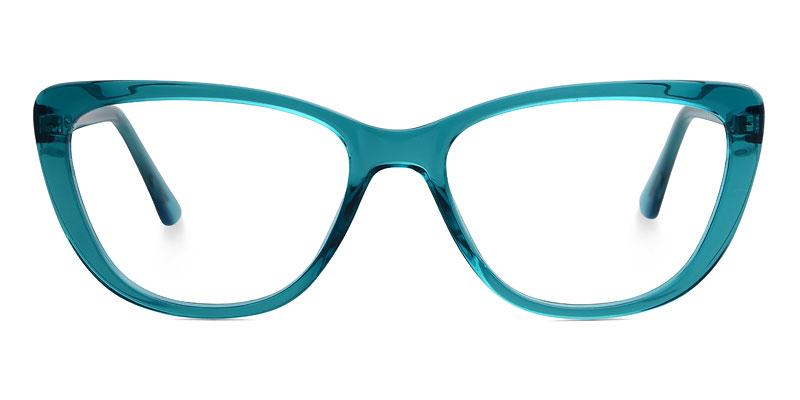 Denise Cateye Green Frame