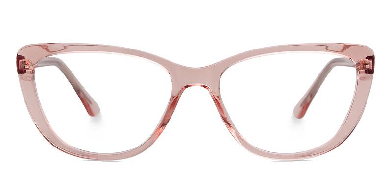 Denise Cateye Pink Frame