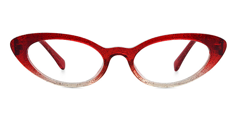 Debbie Cateye Red Frame