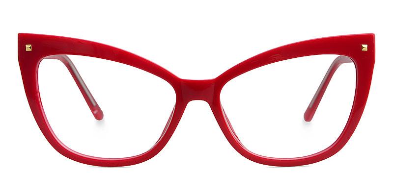Abreu Cateye Red Frame