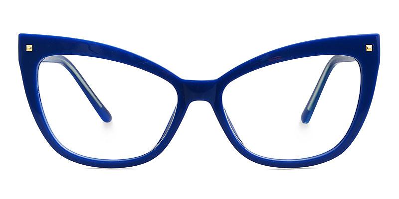 Abreu Cateye Blue Frame