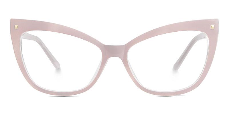 Abreu Cateye Pink Frame