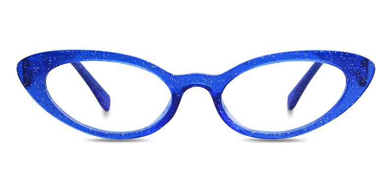 Debbie Cateye Blue Frame