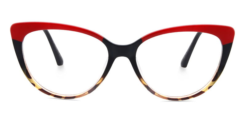 Mira Cateye Red Frame