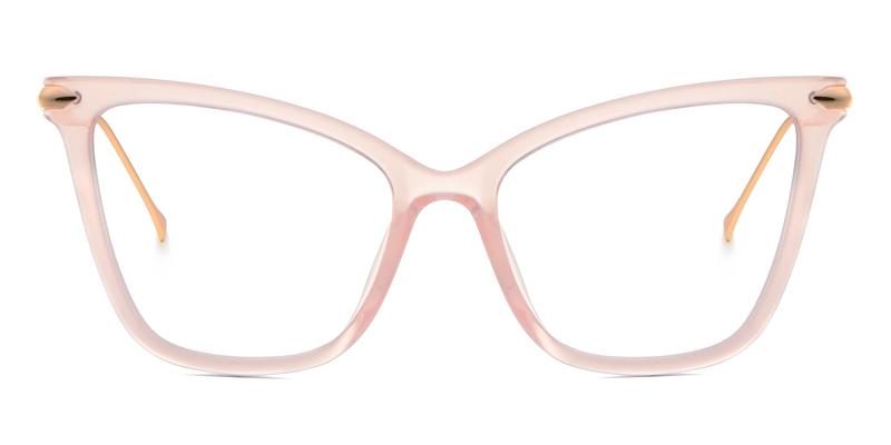 Joseily Cateye Pink Frame