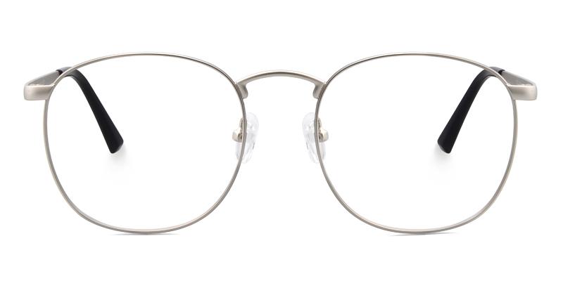 Vilma Round Gray Frame