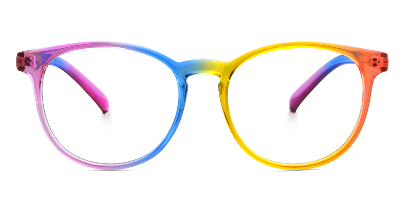 Reeta Round Multicolor Frame