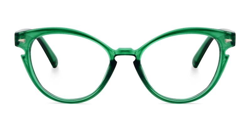 Teah Cateye Green Frame