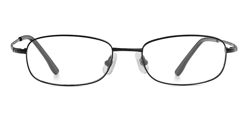 Arthur Oval Black Frame