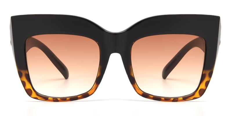 Shelby Cateye Tortoise Sunglasses