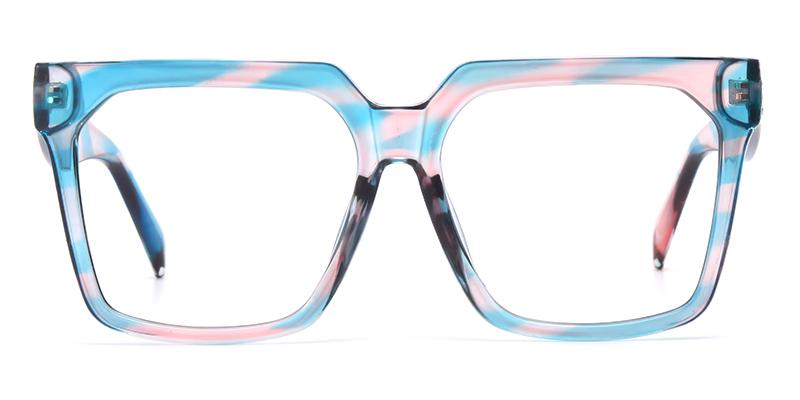 Brenda Square Blue&Pink Frame