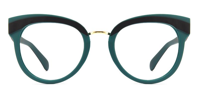 Mikki Cateye Green Frame