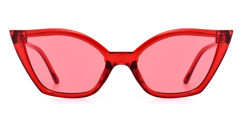 Shevenna Cateye Red Sunglasses