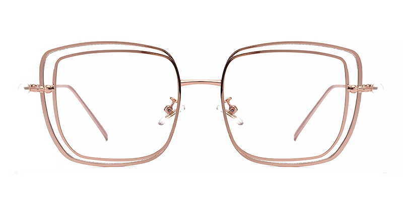 Chanethia Square rose gold Frame
