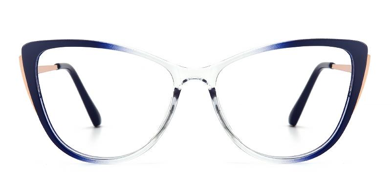 Samuel Cateye Blue Frame
