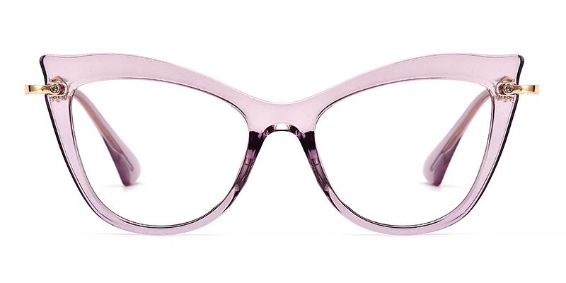 Aigner Cateye Purple Frame