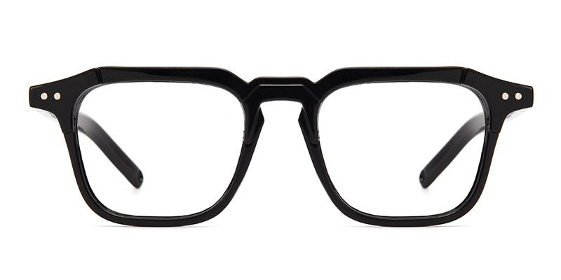 Leon Rectangle Black Frame