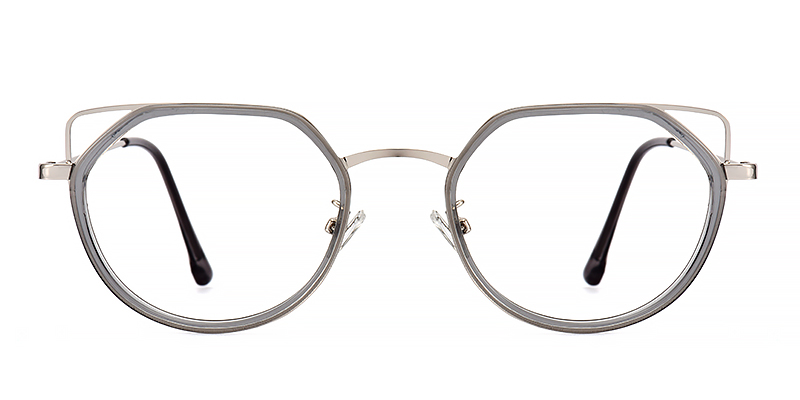 Rosemary Cateye Gray Frame