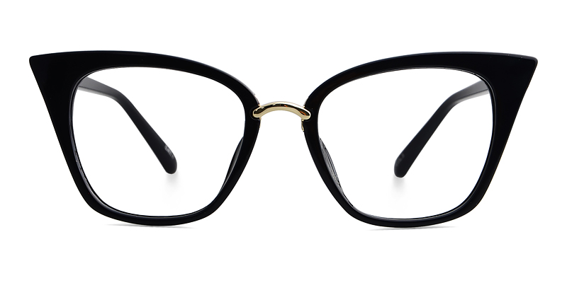 Achelous Cat Eye Black Frame