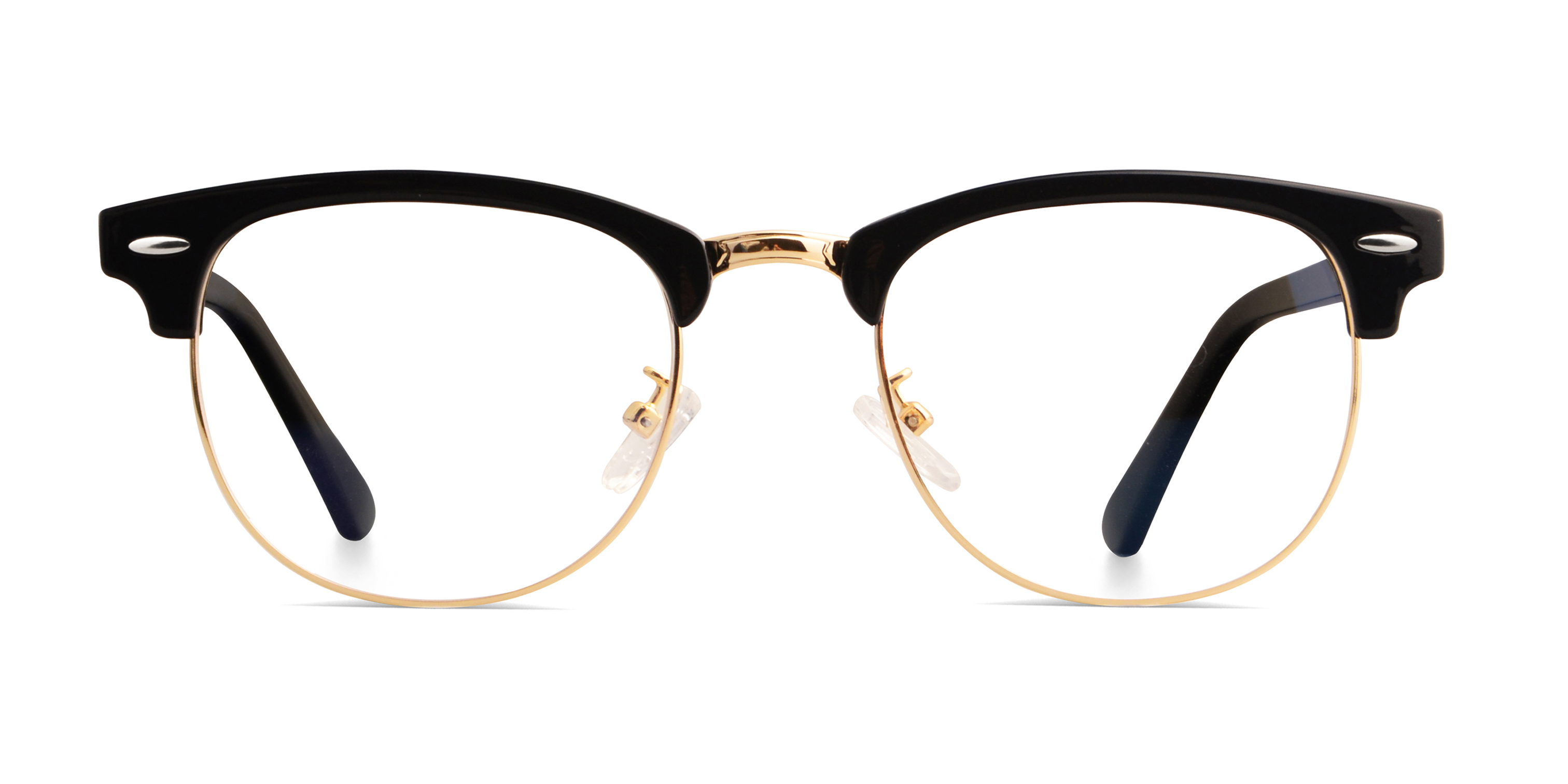 Nereus Browline Black/Golden Frame