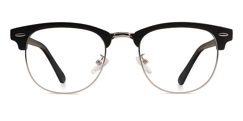 Nereus Browline Black/Silver Frame