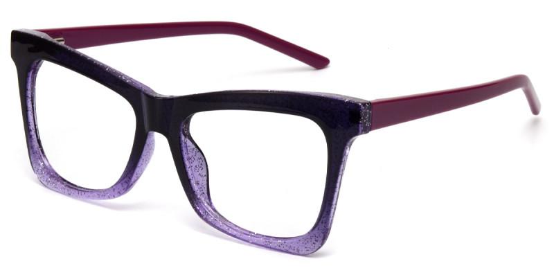 Butterfly Purple Sparkle Frame