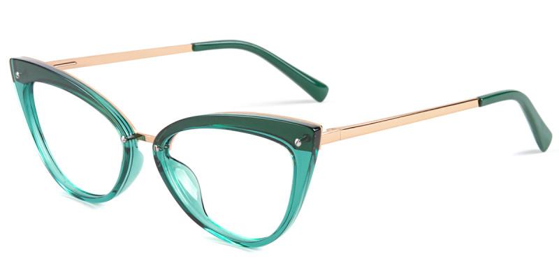 Cateye Green Frame