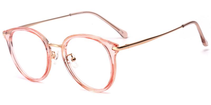 Round Pink Frame