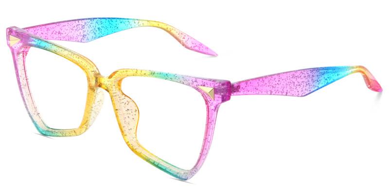 Geometric Colorful Sparkle Frame