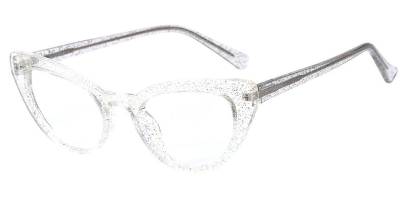 Cateye Crystal Sparkle Frame
