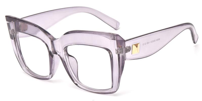 Cateye Purple Frame