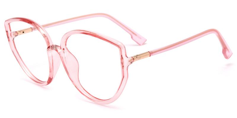 Geometric Pink Frame