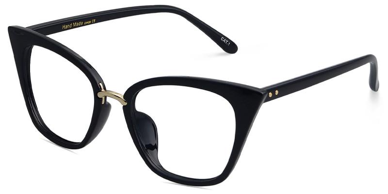 Cat Eye Black Frame