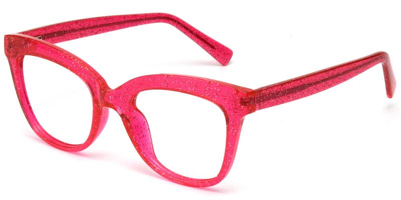 Square Red Sparkle Frame