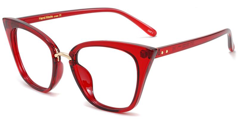 Cateye Red Frame